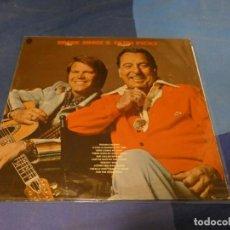 Discos de vinilo: EXPRO LP BOXX 79 LP COUNTRY USA 1975 ERNIE FORD AND GLEN CAMPBELL ESTADO CORRECTO. Lote 220758627