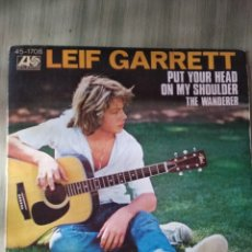 Discos de vinilo: SINGLE VINILO-LEIF GARRET. Lote 220760088