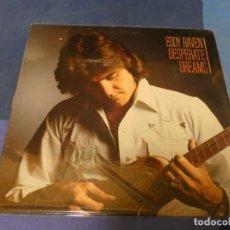 Discos de vinilo: EXPRO LP BOXX 79 LP COUNTRY USA 1981 EDDIE RAVEN DESPERATE DREAMS CIERTO USO TODO LEVE ELEKTRA. Lote 220764298
