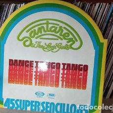 Discos de vinilo: SANTAREN & THE LOVIN' GIRLS – DANCE TANGO TANGO. Lote 220768831