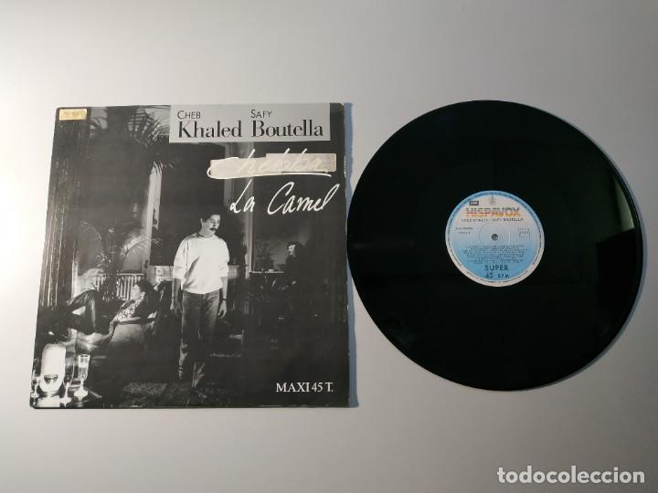 1010- CHEB KHALED SAFY BOUTELLA LA CAMEL SPAIN 1988 MAXI VIN POR VG + DIS VG + (Música - Discos - LP Vinilo - Otros estilos)