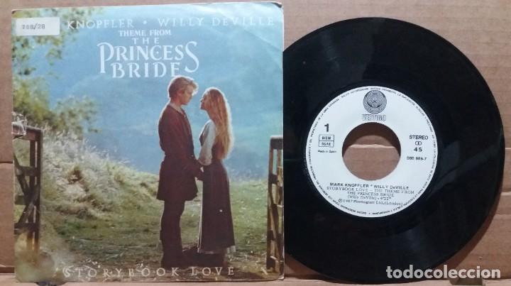 MARK KNOPFLER - WILLY DEVILLE / STORYBOOK LOVE / SINGLE 7 INCH (Música - Discos - Singles Vinilo - Bandas Sonoras y Actores)