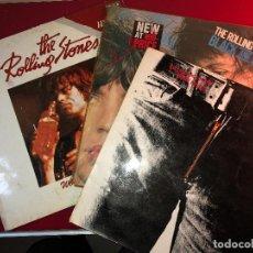 Discos de vinilo: LOTE DISCOS ROLLING STONES.. Lote 220802735