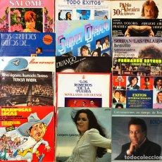 Discos de vinilo: LOTE 30 LP'S ARTISTAS NACIONALES. Lote 220803182