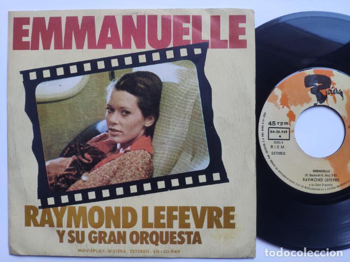 RAYMOND LEFEVRE - 45 SPAIN PS - MINT (Música - Discos - Singles Vinilo - Bandas Sonoras y Actores)