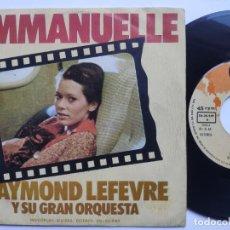 Disques de vinyle: RAYMOND LEFEVRE - 45 SPAIN PS - MINT. Lote 220805487