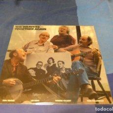 Discos de vinilo: EXPRO LP BOXX 79 LP FOLK USA 1981 THE WEAVERS TOGETHER AGAIN BUEN ESTADO PEETE SEGER. Lote 220805800