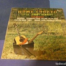 Discos de vinilo: EXPRO LP BOXX 79 LP COUNTRY LITTLE JIMMY DEMPESEY HOME COOKED USA CA 1970 BUEN ESTADO. Lote 220805810