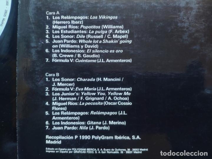 Discos de vinilo: GRUPOS DE LOS 60 - LP Spain PS - MINT * LOS SONOR / LOS INDONESIOS / LOS ESTUDIANTES / MIGUEL RIOS - Foto 3 - 220807435