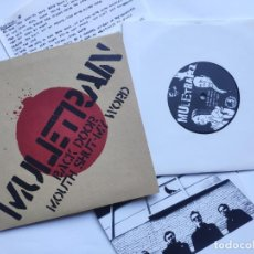 Dischi in vinile: MULETRAIN - EP SPAIN PS - MINT * BACK DOOR / MOUTH SHUT / MY WORD * DISCOS SUBTERRANEOS 004. Lote 220808433