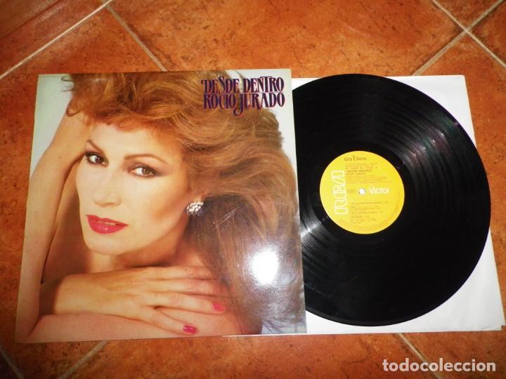 ROCIO JURADO DESDE DENTRO LP VINILO DEL AÑO 1983 RCA JUAN PARDO CONTIENE 10 TEMAS (Música - Discos - LP Vinilo - Flamenco, Canción española y Cuplé)