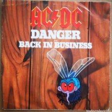 Discos de vinilo: AC / DC - DANGER. Lote 220818230
