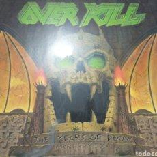 Discos de vinilo: OVERKILL LP. Lote 220836326