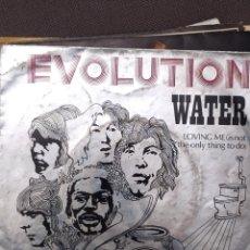 Discos de vinilo: EVOLUTION: WATER, LOVING ME DIMENSION 1970 DESPLEGABLE, COMPLETA PROGRESIVO. Lote 220837443