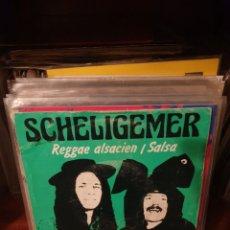 Discos de vinilo: SCHELIGEMER / REGGAE ALSACIEN / EMA PRODUCTION 1984. Lote 220842893