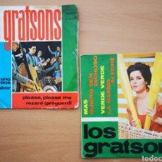 Discos de vinilo: LOTE LOS GRATSONS / UNO DE TANTOS / MAS. Lote 220846517
