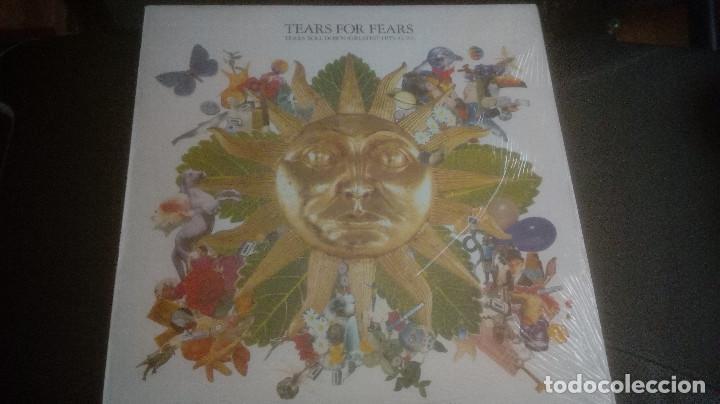 TEARS FOR FEARS – TEARS ROLL DOWN (GREATEST HITS 82-92) (SPAIN 1992) (Música - Discos - LP Vinilo - Electrónica, Avantgarde y Experimental)
