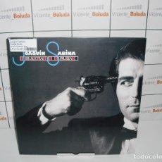 Discos de vinilo: JOAQUIN SABINA RULETA RUSA (PICTURE DISCO) (LP-VINILO) NUEVO Y PRECINTADO ENVIÓ A ESPAÑA GRATIS. Lote 220723682