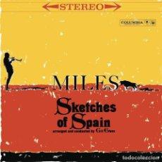 Discos de vinilo: LP MILES DAVIS SKETCHES OF SPAIN VINILO AMARILLO REEDICION MODAL JAZZ. Lote 133447050