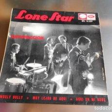 Discos de vinilo: LONE STAR, EP, SATISFACCION + 3, AÑO 1965. Lote 220854121