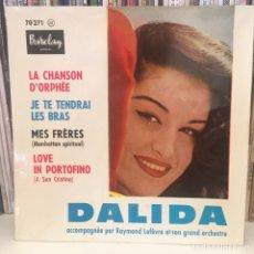 Discos de vinilo: DALIDA EP BARCLAY EXCELENTE CONSERVACION COMO NUEVO!!!. Lote 220854948