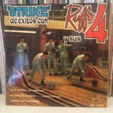 Discos de vinilo: RUFFO Y SUS 4 STRIKE DISCO EP AÑO 1964 EXCELETE CONSERVACION. Lote 220855563