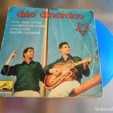 Discos de vinilo: DUO DINAMICO, EP, VIVIR, AMAR, SOÑAR + 3, AÑO 1960. Lote 220868272