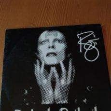 Discos de vinilo: DISCO VINILO LP DAVID BOWIE,REBEL REBEL,EDICION LIMITADA PROMOCIONAL PARA DJ. Lote 220872918