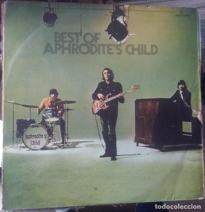 BEST OF APHRODITES CHILD (Música - Discos - LP Vinilo - Pop - Rock - Internacional de los 70)