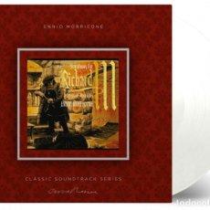 Discos de vinilo: ENNIO MORRICONE - SYMPHONY FOR RICHARD III TRANSPARENT 180G VINYL LP EDICIÓN LIMITADA PRECINTADO. Lote 220874460