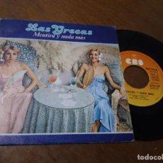 Discos de vinilo: LAS GRECAS – MENTIRA Y NADA MÁS – KASSARTILI - 1978 – SINGLE. Lote 220876077