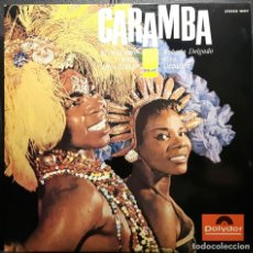 Discos de vinilo: ROBERTO DELGADO Y SU ORQUESTA - CARAMBA - LP - ESPAÑA - MAS PURO RITMO AFRO CUBANO - NO USO CORREOS. Lote 220877520