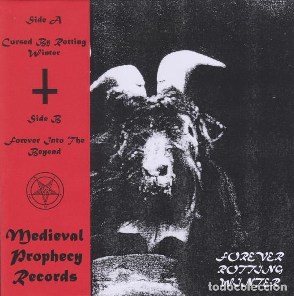 MOENEN OF XEZBETH - FOREVER ROTTING WINTER - 7'' [MEDIEVAL PROPHECY, 2019 · EDICIÓN JAPONESA] (Música - Discos de Vinilo - EPs - Heavy - Metal)