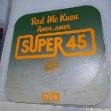 Discos de vinilo: ROD MC KUEN - AMOR, AMOR. Lote 220883395