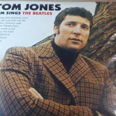 Discos de vinilo: TOM JONES TOM SINGS THE BEATLES. Lote 220886850