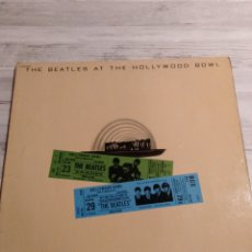Discos de vinilo: THE BEATLES AT THE HOLLYWOOD BOWL. Lote 220894001