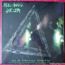 Discos de vinilo: MEKONG DELTA - IN A MIRROR DARKLY- 2XLP VINILO + 1 CD. NUEVO. PRECINTADO. VINILOS VERDES.. Lote 220901481
