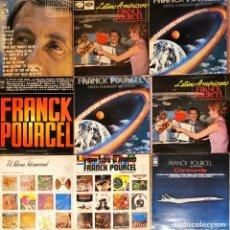Discos de vinilo: LOTE 9 LP'S FRANK POURCEL. Lote 220913663