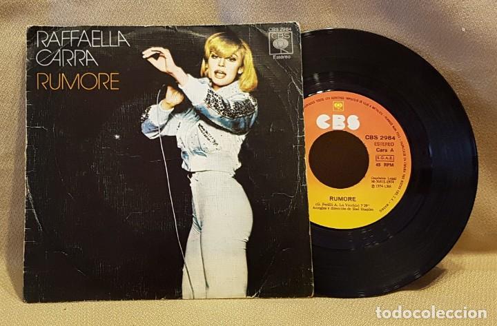 RAFFAELLA CARRA - RUMORE (Música - Discos - Singles Vinilo - Canción Francesa e Italiana)