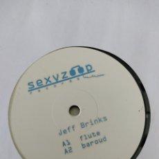 """Discos de vinilo: DISCO VINILO MAXI JEFF BRINKS,""""FLUTE"""". Lote 220925241"""