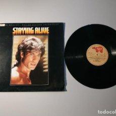 Disques de vinyle: 1010-STAYING ALIVE ORIGINAL MOTION SOUNDTRACK ESPAÑA 1973 LP VIN POR VG DIS VG +. Lote 220925602
