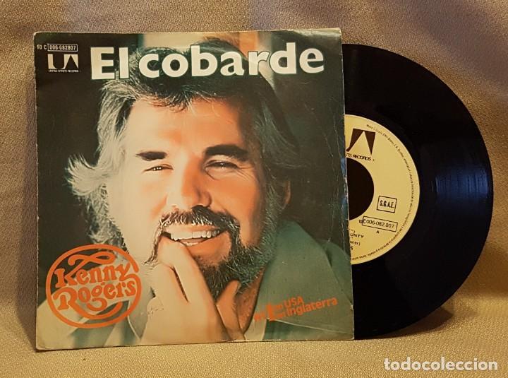 KENNY ROGERS - EL COBARDE (Música - Discos - Singles Vinilo - Country y Folk)