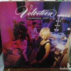 Discos de vinilo: TRANVISION VAMP - VELVETEEN - LP. DEL SELLO MCA RECORDS 1989. Lote 220928901