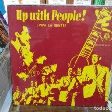 Discos de vinilo: UP WITH PEOPLE (¡VIVA LA GENTE!) - LP. DEL SELLO BCD DISCOS 1969. Lote 220932377