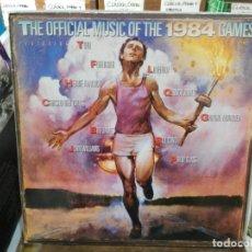 Discos de vinilo: THE OFFICIAL MUSIC OF THE 1984 - SUMER GAMES - LP. DEL SELLO CBS DE 1984. Lote 220933852