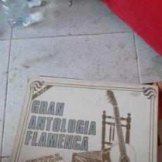 Discos de vinilo: CAJA DE DISCOS LPS =GRAN ANTOLOGIA FLAMENCA=PREMIO NACIONAL MINISTERIO DE CULTURA 10 LPS 1979=RCA. Lote 220935248