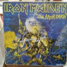 Discos de vinilo: IRON MAIDEN - LIVE AFTER DEATH - DOBLE LP. DEL SELLO EMI DE 1985. Lote 220935701