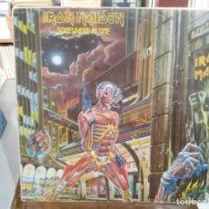 Discos de vinilo: IRON MAIDEN - SOMEWHERE IN TIME - LP. DEL SELLO EMI DE 1986. Lote 220936158