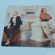 Discos de vinilo: PHIL COLLINS AND MARILYN MARTIN (3310). Lote 220940711