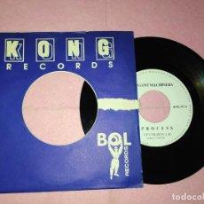 "Discos de vinilo: 7"" ELEGANT MACHINERY – PROCESS - BOL RECORDS BOL 07.0 - SPAIN PRESS - PROMO SHEET (VG+/EX). Lote 220940831"